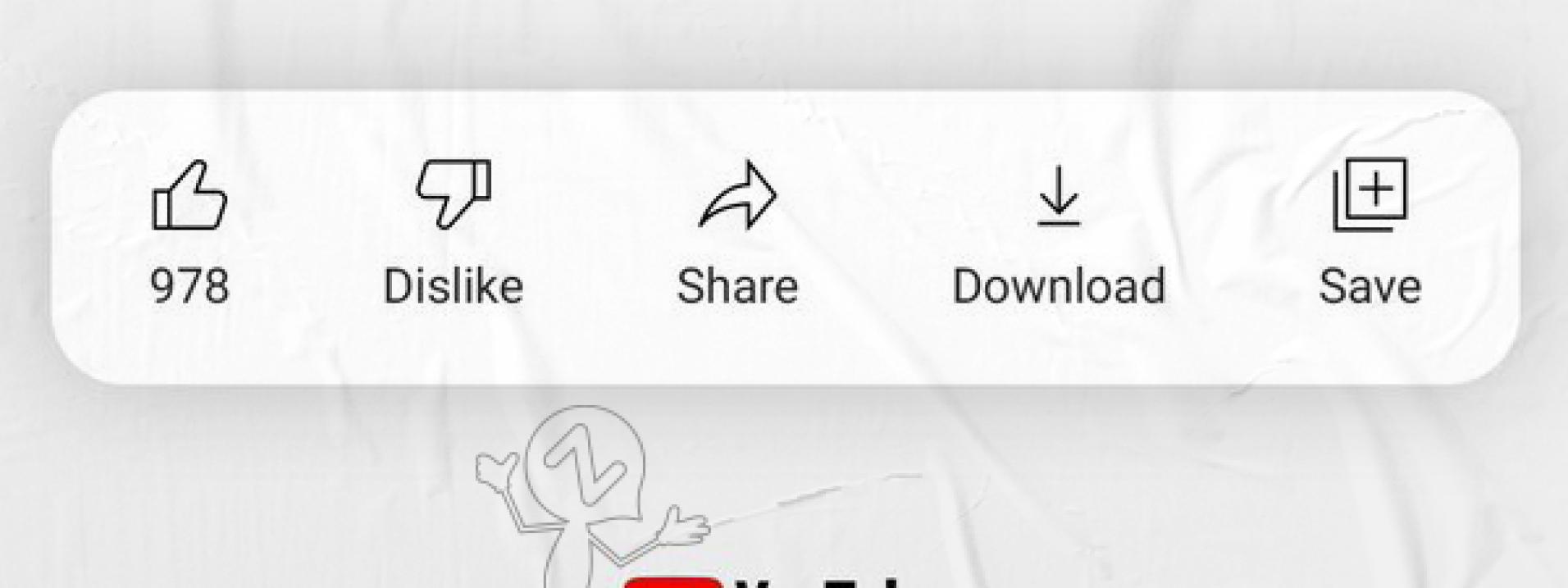 """YouTube está testando esconder o número de """"Não gostei"""""""